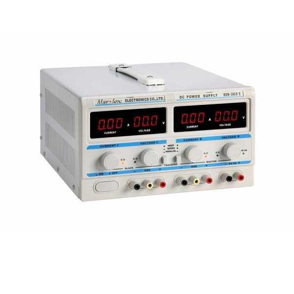 0-30V 0-5A Çift Çıkışlı Ayarlı Güç Kaynağı - RXN-305D-II