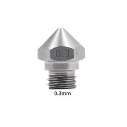 0.3mm Çelik Nozzle MK10-4mm-M7 - Thumbnail