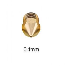 0.4mm Pirinç Nozzle MK8-Ender 3 Uyumlu - Thumbnail