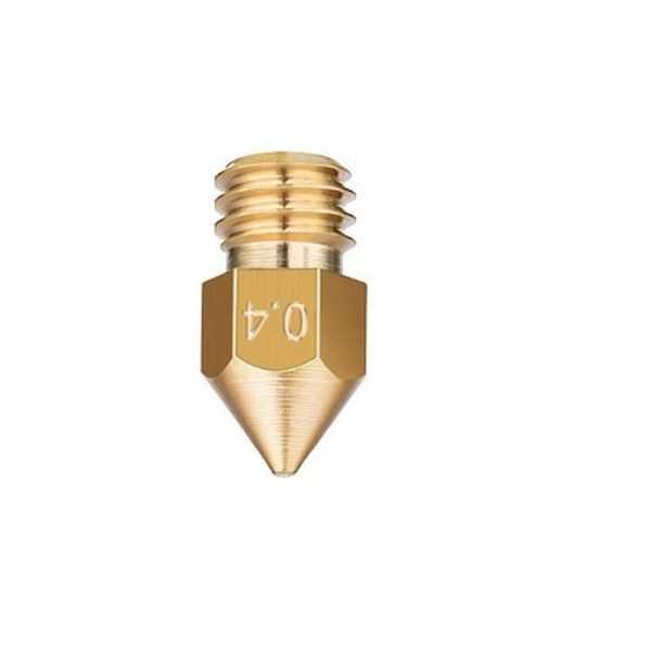 0.4mm Pirinç Nozzle MK8-Ender 3 Uyumlu