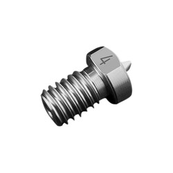 0.4mm E3D V5/V6 Titanyum Nozzle-1.75mm-M6 - Thumbnail