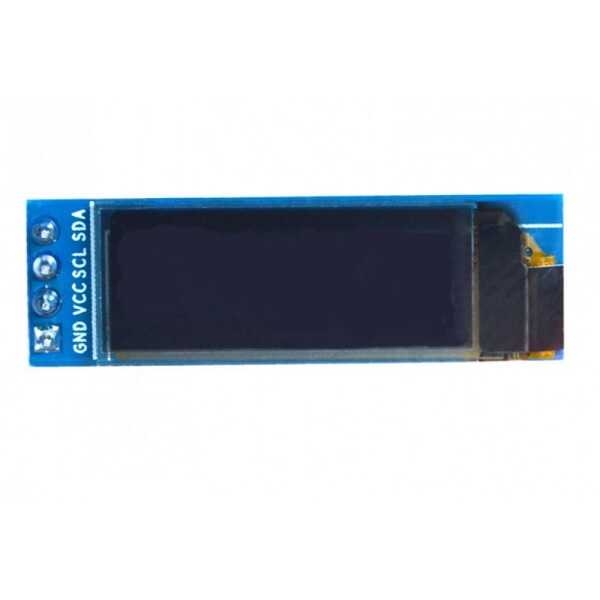 0.91inch OLED Modül 128X32 - Mavi