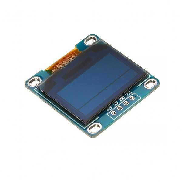 0.96 inch I2C OLED Ekran 128x64-Mavi/Sarı