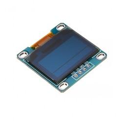 0.96 inch I2C OLED Ekran 128x64-Mavi/Sarı - Thumbnail
