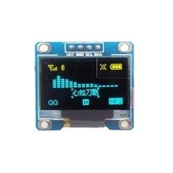 LCD - Display - 0.96 inch I2C OLED Ekran 128x64-Mavi/Sarı