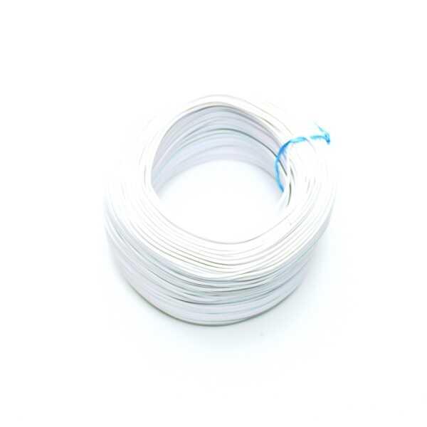 100 Metre Çok Damarlı Montaj Kablosu 24 AWG - Beyaz