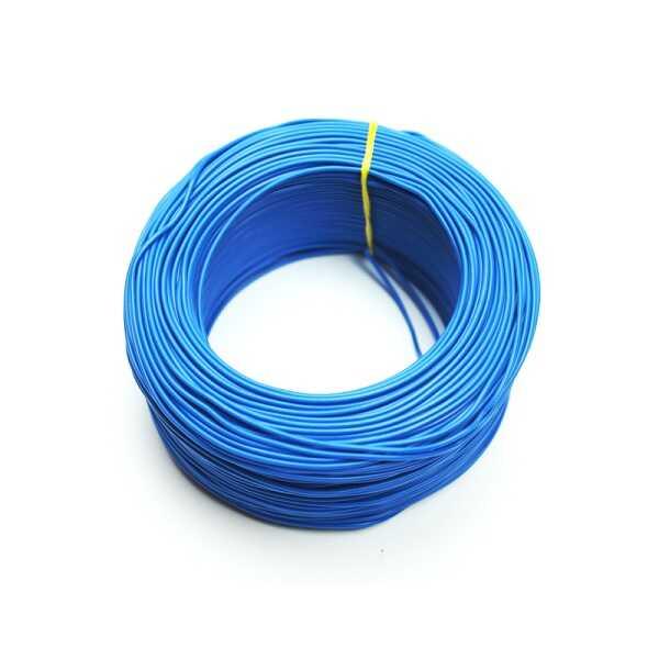 100 Metre Çok Damarlı Montaj Kablosu 24 AWG - Mavi