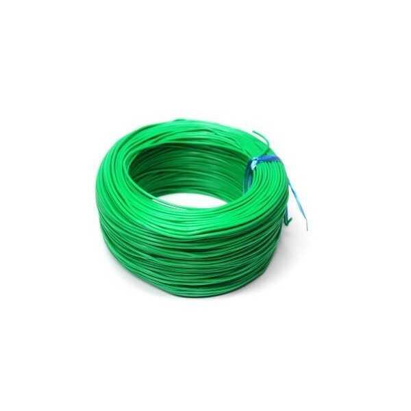 100 Metre Tek Damarlı Montaj Kablosu 24 AWG - Yeşil