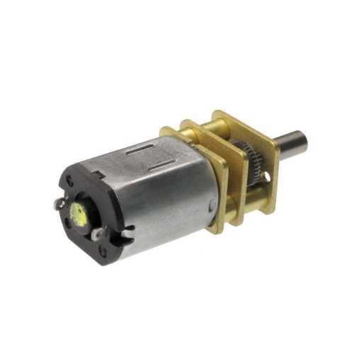 12v 1000rpm Metal Dişli Kutulu Dc Motor
