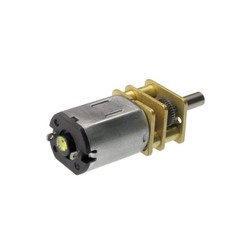 12v 2000rpm Metal Dişli Kutulu Dc Motor - Thumbnail