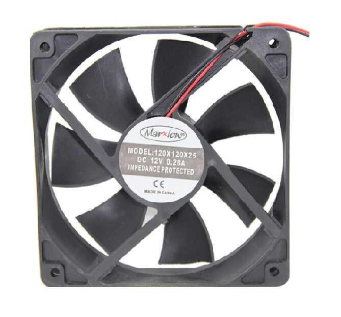 Fan Çeşitleri - 12V DC FAN 120x120x25mm