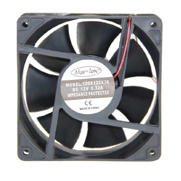 12V DC FAN 120x120x38mm