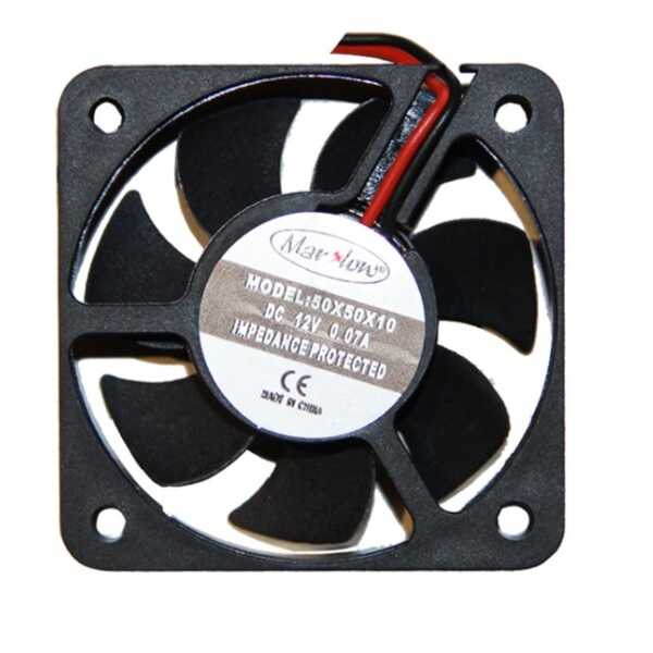 12V DC Fan 50x50x10mm