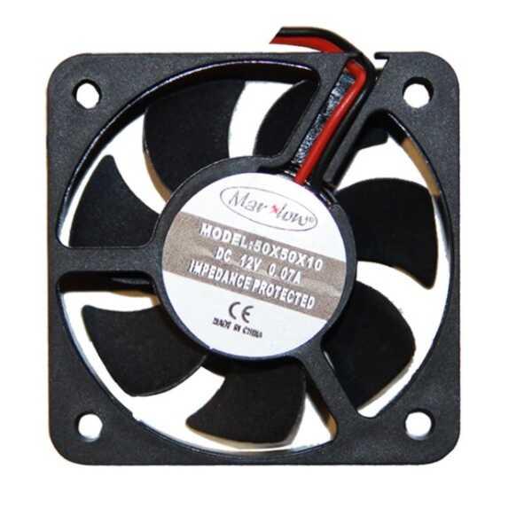 Fan Çeşitleri - 12V DC Fan 50x50x10mm