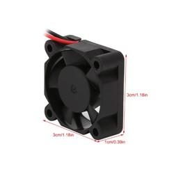 12V Fan - 30x30x10mm - Thumbnail