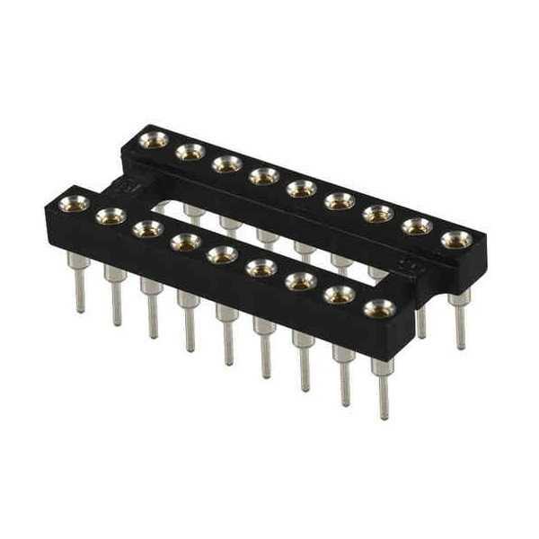 18 PIN DIP Entegre Soket Precision