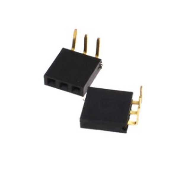 1X3 90 Derece Dişi Pin Header
