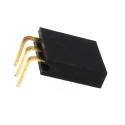 1X3 90 Derece Dişi Pin Header - Thumbnail