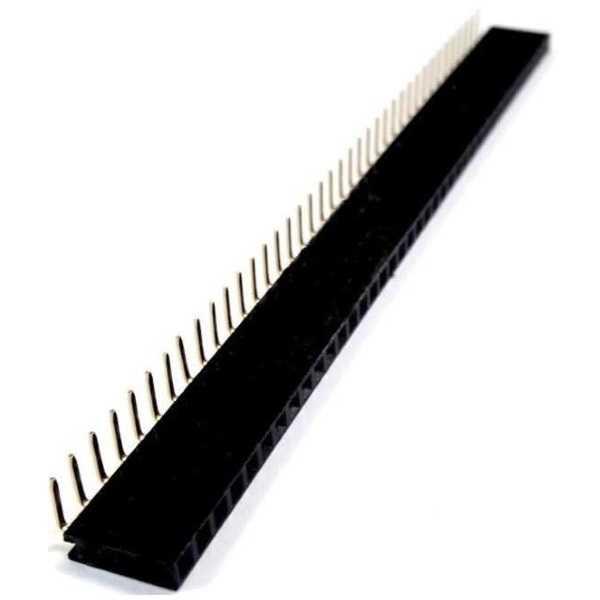 1X40 90 Derece Dişi Pin Header
