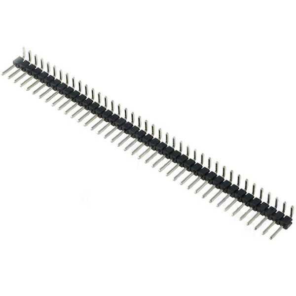 1X40 90 Derece Erkek Pin Header