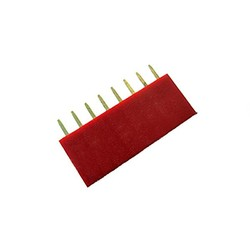 1x8 Pin Dişi Header - Kırmızı - Thumbnail