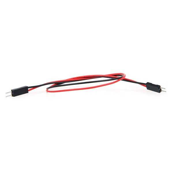 2 Pin Erkek-Erkek Jumper Kablo-300mm
