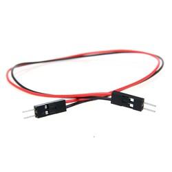 2 Pin Erkek-Erkek Jumper Kablo-300mm - Thumbnail