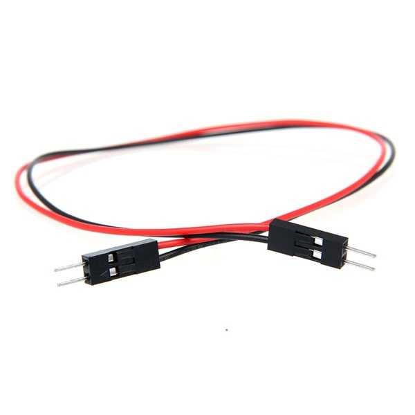 Jumper Kablo - 2 Pin Erkek-Erkek Jumper Kablo-300mm