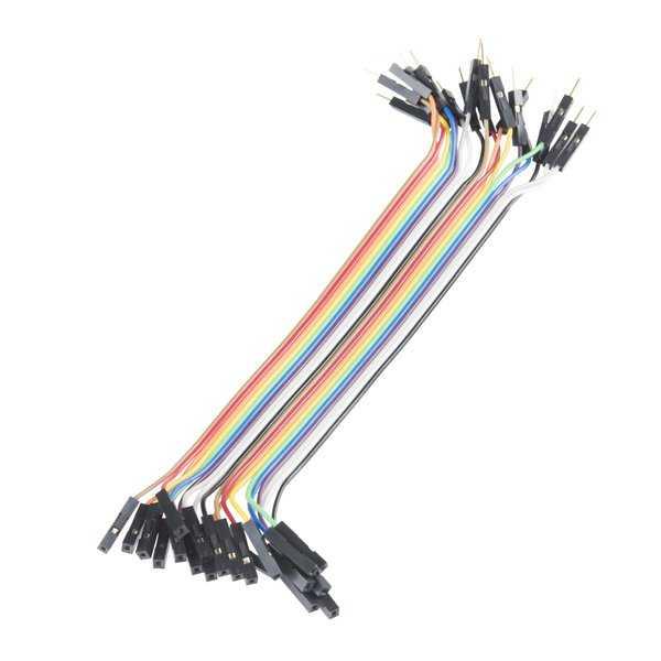 20 Pin Ayrılabilen Dişi-Erkek Jumper Kablo-200mm