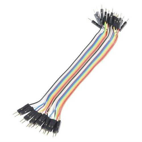 Jumper - Dupont Kablo - 20 Pin Ayrılabilen Erkek-Erkek Jumper Kablo-200mm