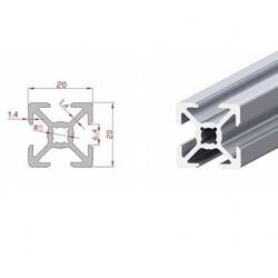 20x20 Sigma Profil-Kanal 6 - 330mm - Thumbnail