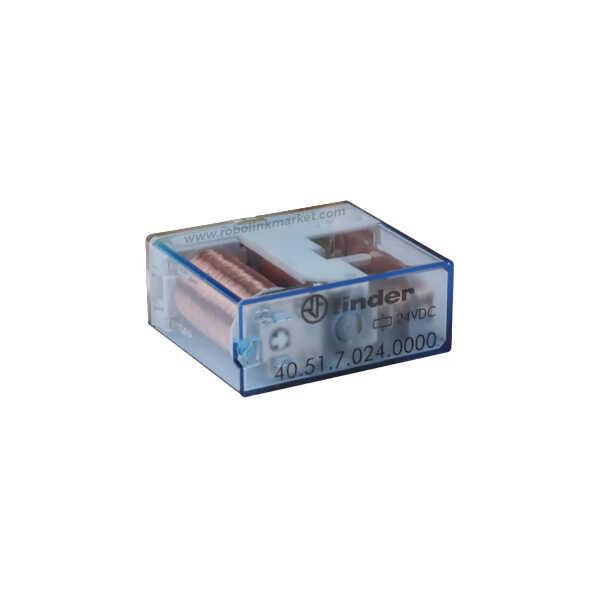 24V 10A Tek Kontak Finder Röle - 40.51.7.024.0000
