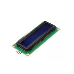 2x16 Lcd Ekran Mavi + I2C Arayüzü Modülü - Thumbnail