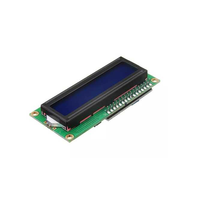 Karakter LCD - 2x16 Lcd Ekran Mavi + I2C Arayüzü Modülü