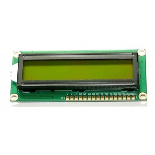 Karakter LCD - 2x16 Lcd Ekran Yeşil