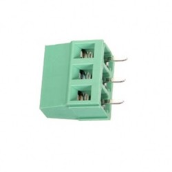 3-pin 5mm Terminal Konnektör-12/26AWG - Thumbnail