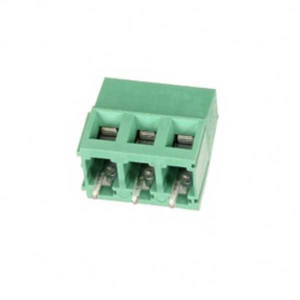 Klemens - 3-pin 5mm Terminal Konnektör-12/26AWG