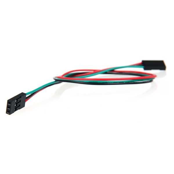 3 Pin Dişi-Dişi Jumper Kablo-300mm