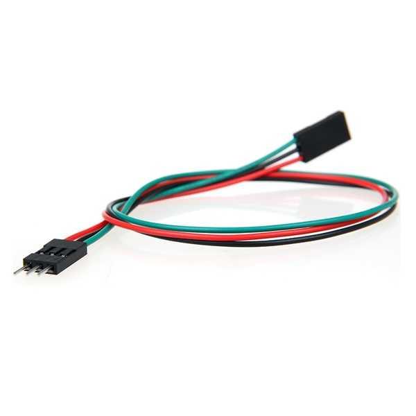 3 Pin Dişi-Erkek Jumper Kablo-300mm