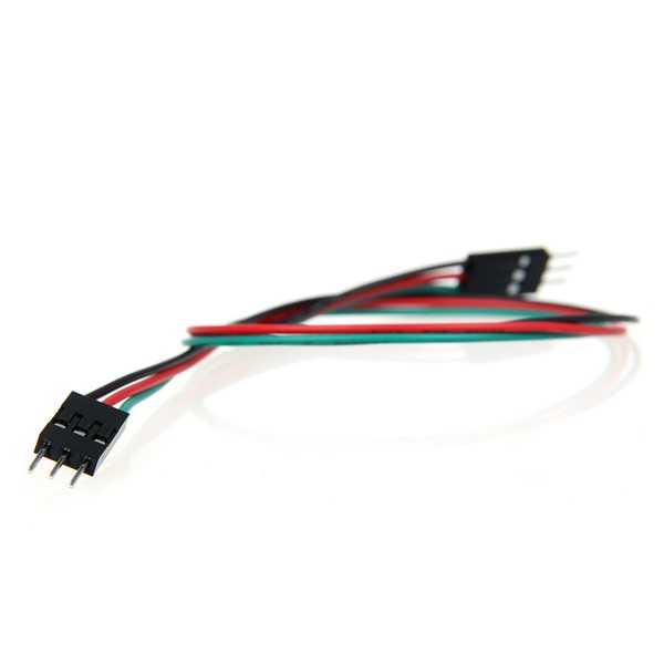 3 Pin Erkek-Erkek Jumper Kablo-300mm