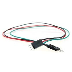 3 Pin Erkek-Erkek Jumper Kablo-300mm - Thumbnail