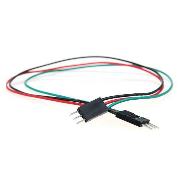 Jumper Kablo - 3 Pin Erkek-Erkek Jumper Kablo-300mm