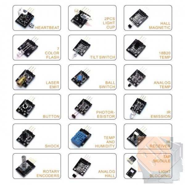 37 Parça Sensör Kiti