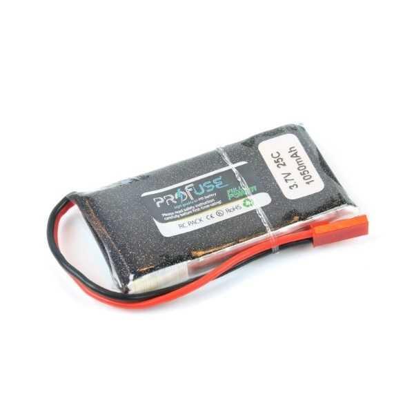 3.7V 1S Lipo Batarya 1050mAh 25C