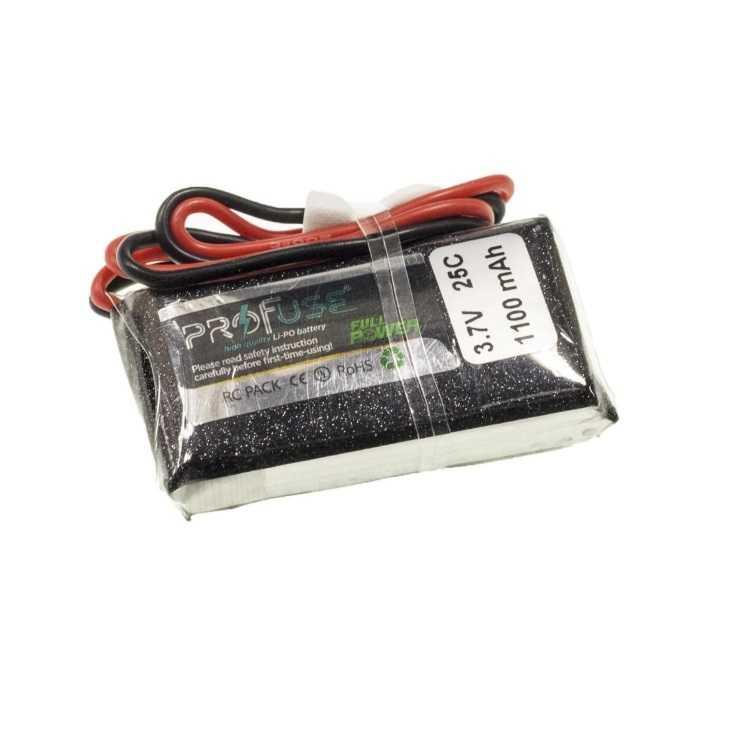 Lİ-PO PİL - 3.7V 1S Lipo Batarya 1100mAh 25C -Mbot Pili