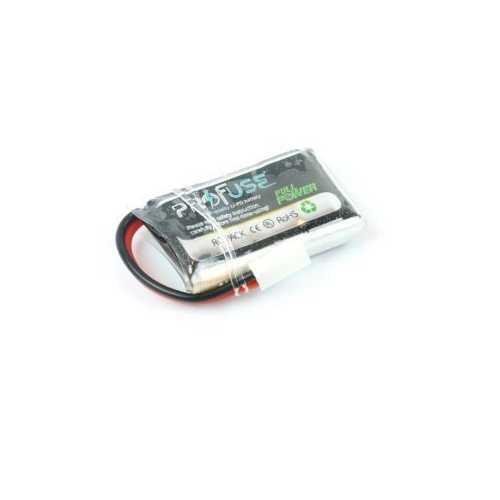 3.7V 1S Lipo Batarya 350mAh 25C - Mikro Drone Pili