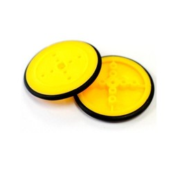 38x4mm İnce Teker-Sarı - Thumbnail