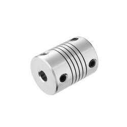 3D Printer Kaplin 6.35x8mm Coupler - Thumbnail