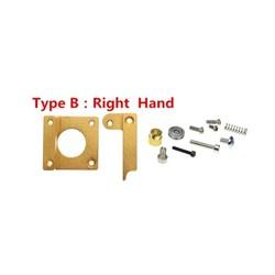 3d Yazıcı için Exruder Alüminyum Blok Mk8 Set Tip B - Thumbnail