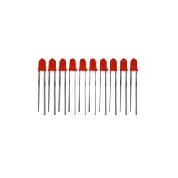 3mm Kırmızı Led - 10 Adet - Thumbnail
